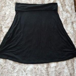 Old Navy Stretchy Foldover Waist Skirt